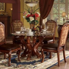 Steve Silver Dining Chairs Steel Case Leap Chair Dresden Carved Wood 5pc 54