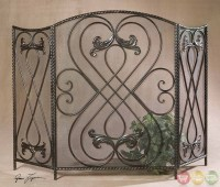 Effie Traditional Fireplace Screen 20960