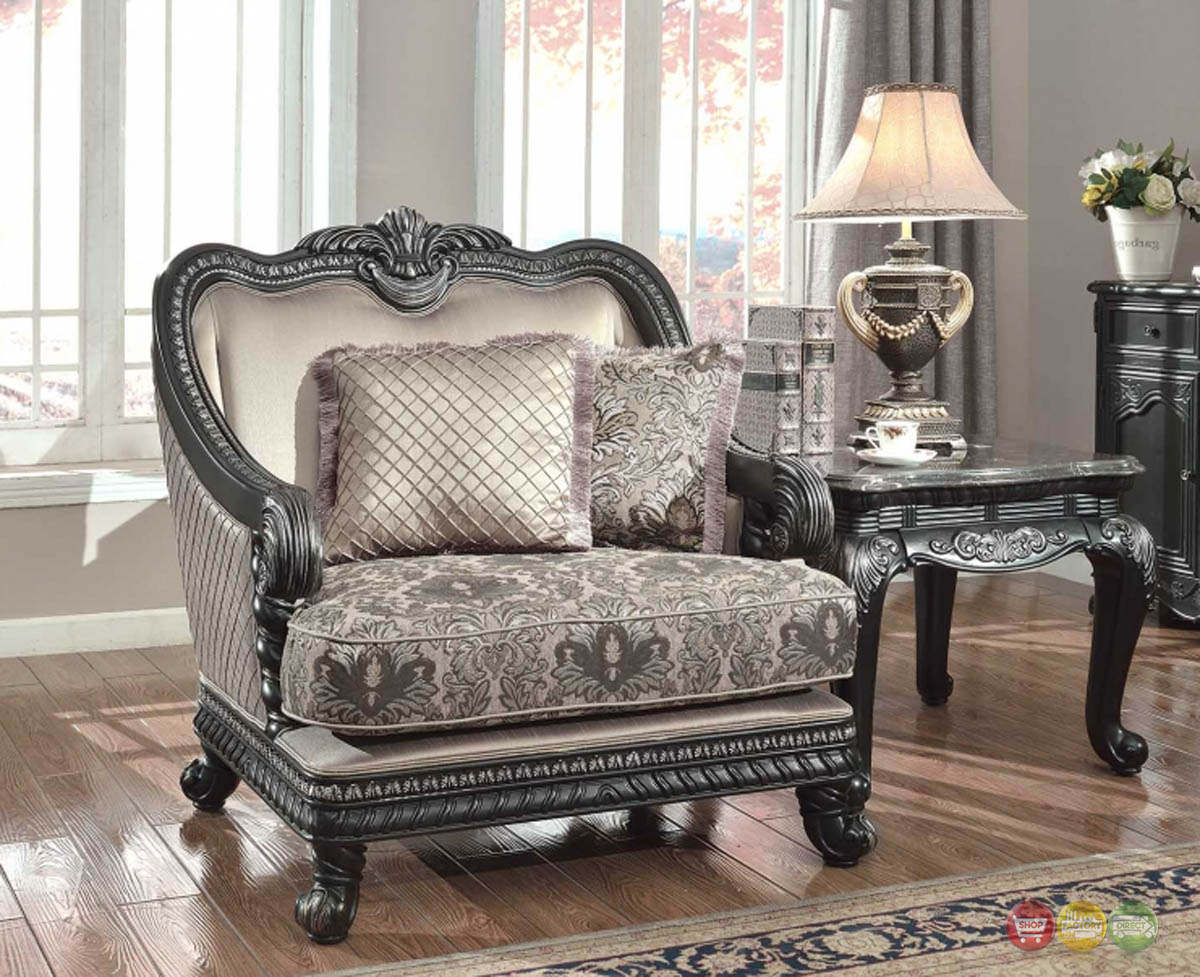 wood living room chairs craigslist dining table and florence traditional formal furniture arm