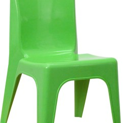 Kids Stackable Chairs Chair Covers And Table Linens Rentals Green Plastic School With Carrying Handle 11 Image Is Loading
