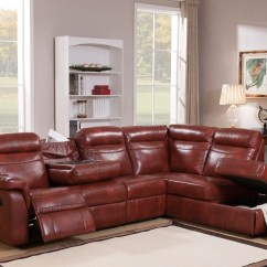 Genuine Leather Sectional Sofa With Chaise Ava Velvet Tufted Sleeper Hariston Caramel Reclining