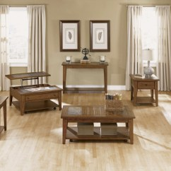 Shaker Style Sofa Plans How To Recover Cushions Without Sewing Hearthstone 3 Piece Rustic Oak Finish Occasional Table Set