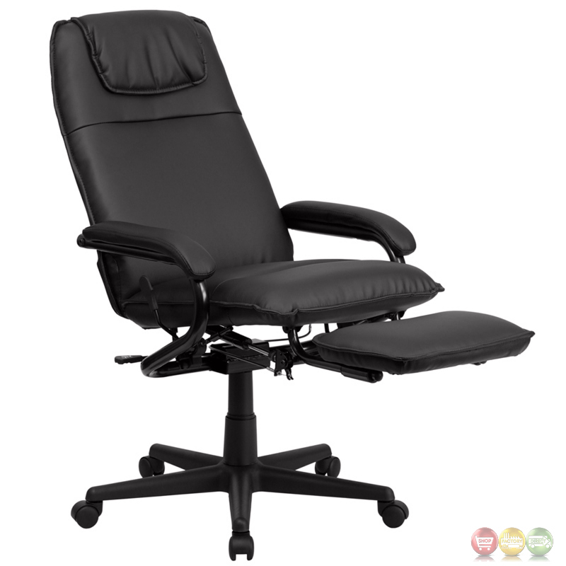 swivel office chair plans bedroom laura ashley high back black leather executive reclining bt-70172-bk-gg