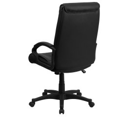 Swivel Office Chair Plans Comfortable Dining Chairs High Back Black Leather Executive Bt
