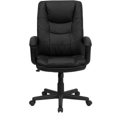 Swivel Office Chair Plans Tripod Camping High Back Black Leather Executive Bt
