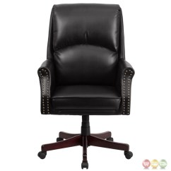 Office Chair Support For Upper Back Pain Desk Overstock High Pillow Black Leather Executive Swivel