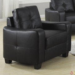 Leather Couch And Chair Set Cherry Wood Chairs Jasmine Contemporary Black Bonded Sofa