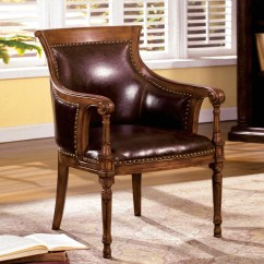 Antique Accent Chair White Velvet Kirklees Distressed Oak With Curved
