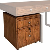 Madison Home Office Rolling File Cabinet in Burnished ...