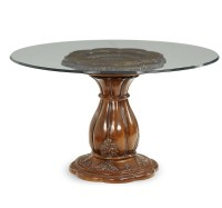 Round Glass Top Dining Table | Shop Factory Direct
