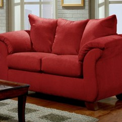 Sofa And Chairs Bentwood Rocking Chair Modern Red Loveseat Living Room Furniture Set