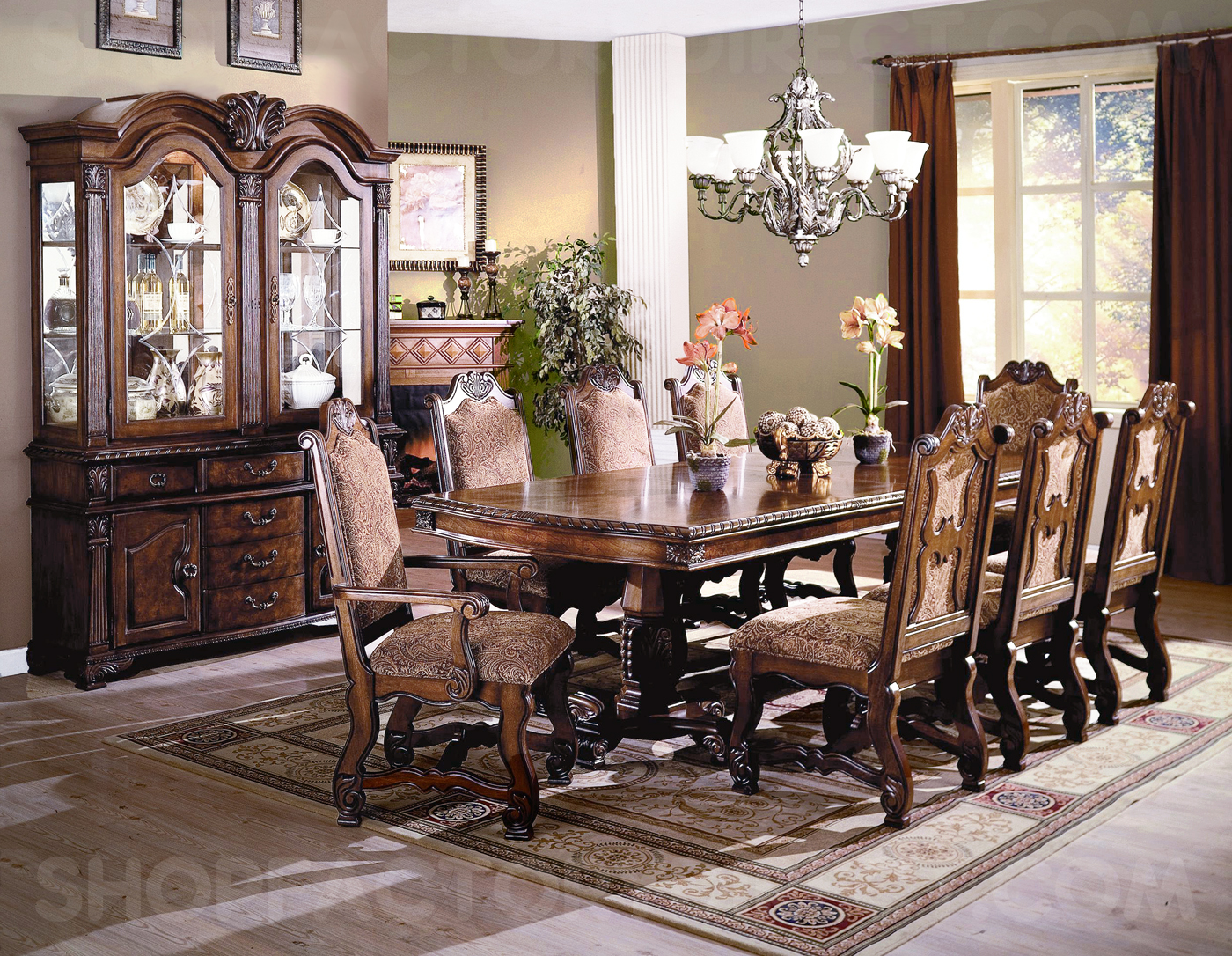 Dining Chairs Set Renaissance Dining Room Furniture Neo Renaissance Dining