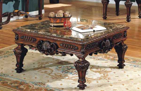 Old World Coffee Tables Traditional