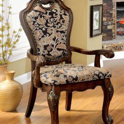 Dining Chair Styles Reclining Office With Footrest Opulent Traditional Style Formal Room Furniture Set