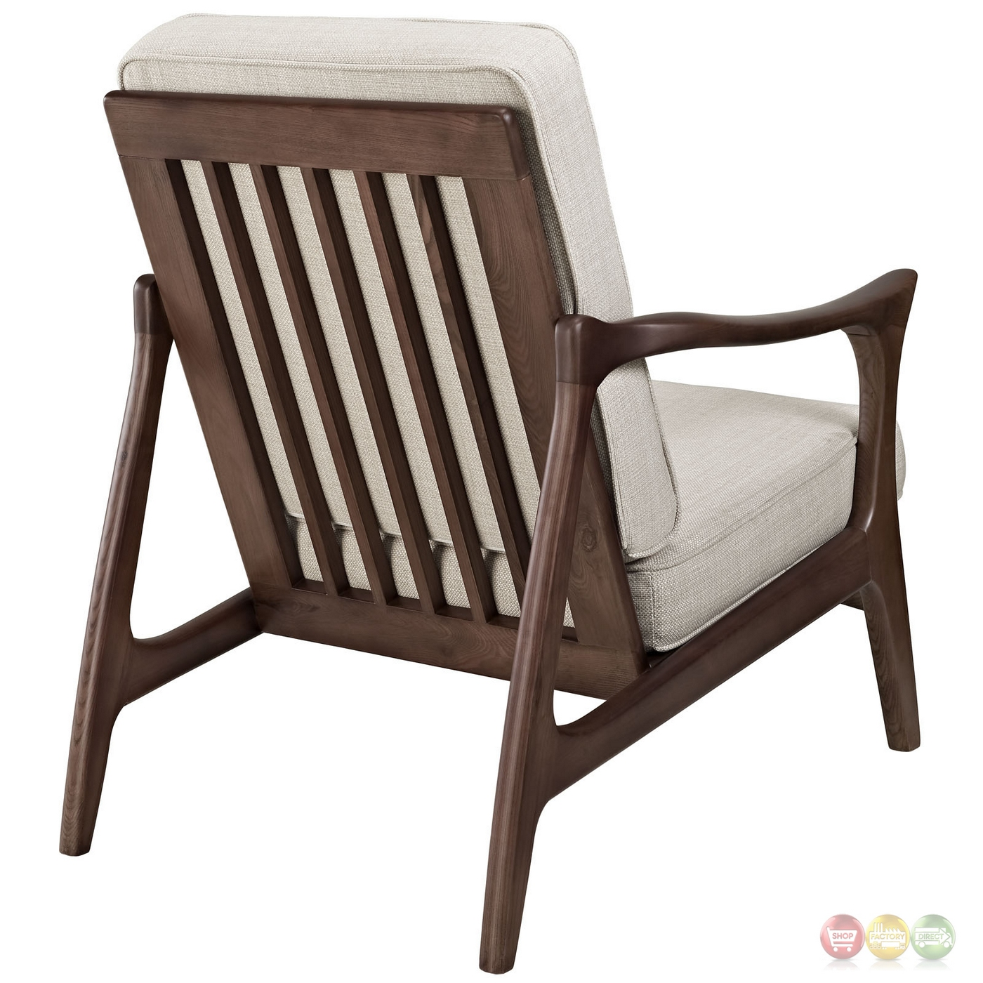 Wooden Lounge Chair Paddle Contemporary Wooden Lounge Chair With Upholstered