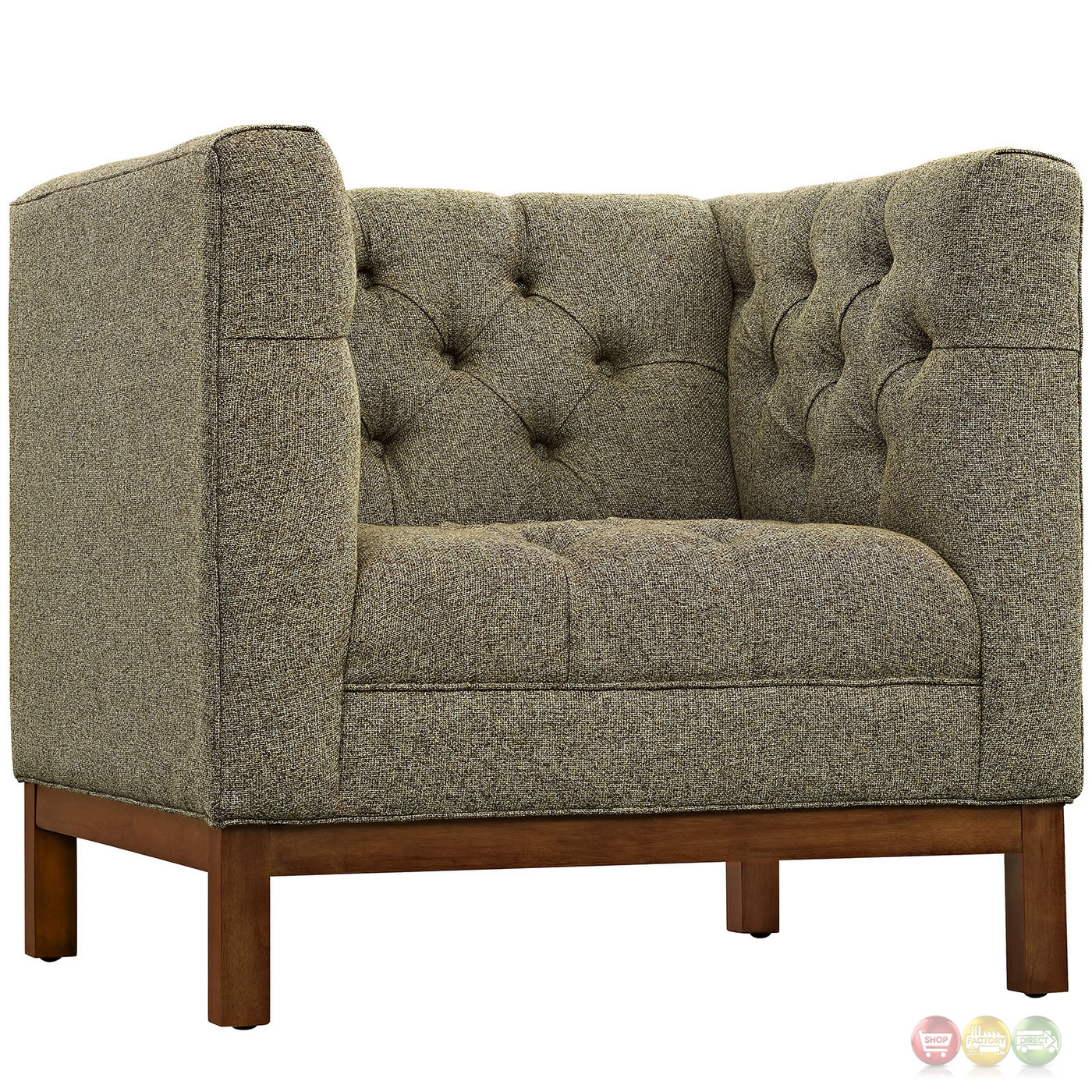 panache sofa set serta bed reviews mid century modern 2pc upholstered and armchair
