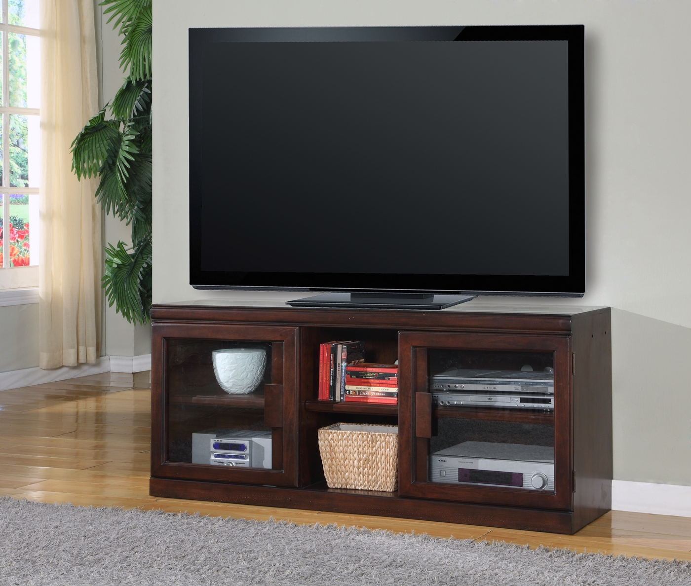 Parker House Oslo 60 TV Console Entertainment Center In