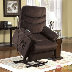 Romedic Stand Up Lift Chair Graco Blue Owl High Perth Cocoa Brown Recliner With Assist Power