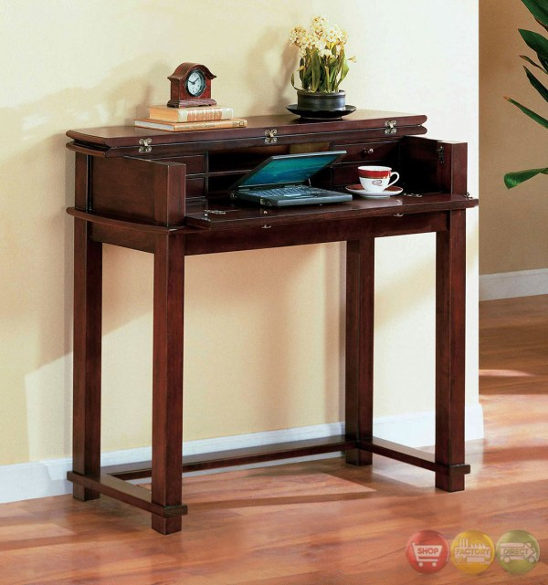 Pine Hurst Cherry Accent Tables With 3-drawer Coffee Table