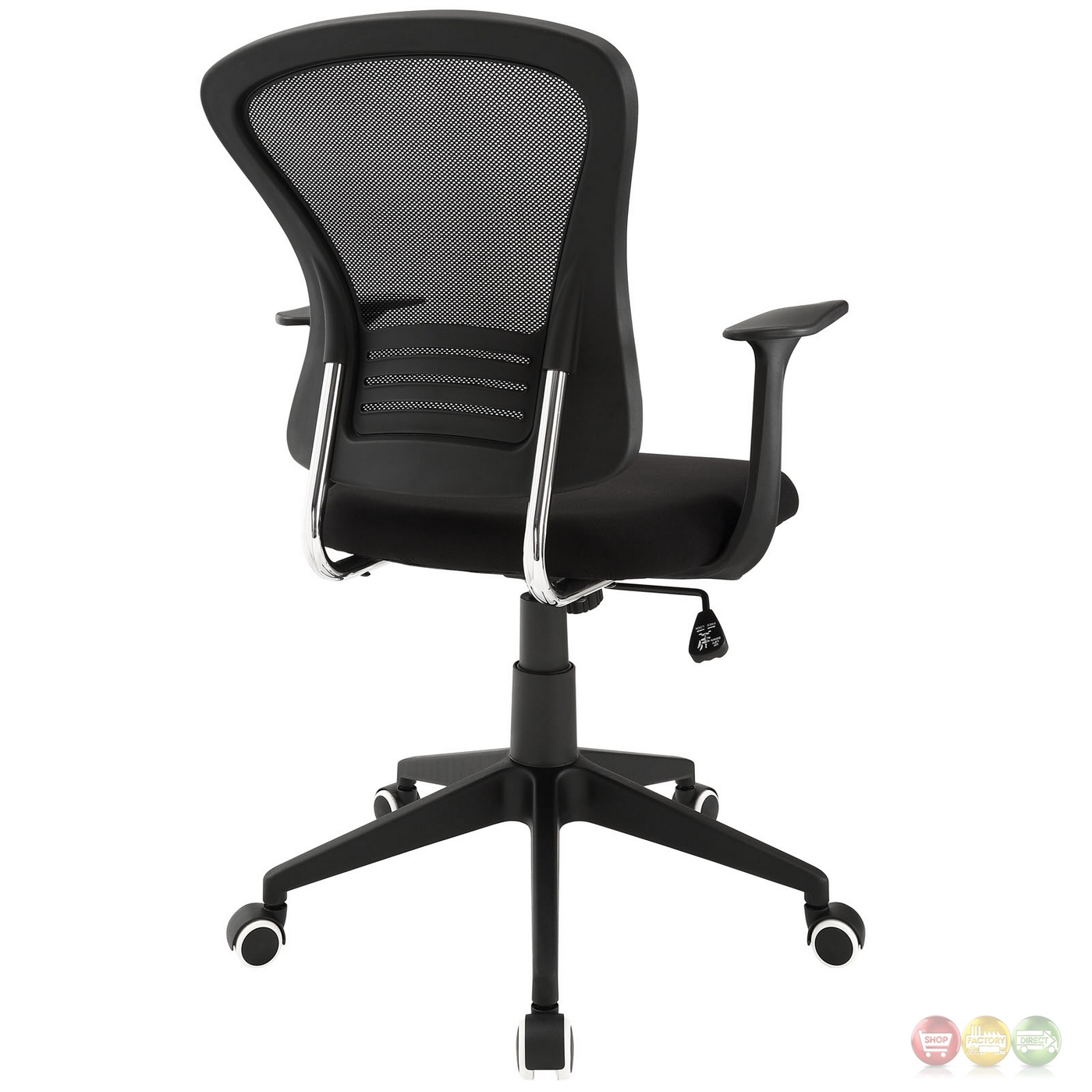 back support office chair ergonomic aeron poise modern mesh with lumbar