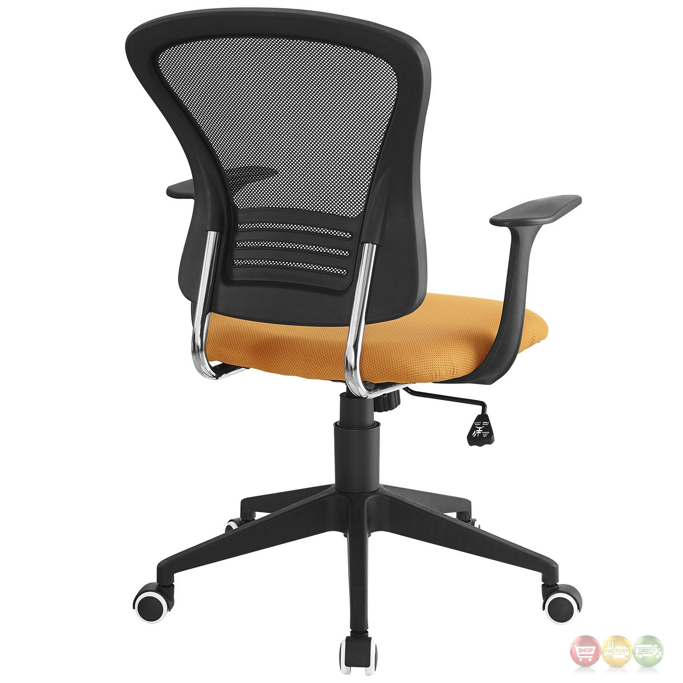 Back Support Office Chair Poise Modern Ergonomic Mesh Back Office Chair With Lumbar