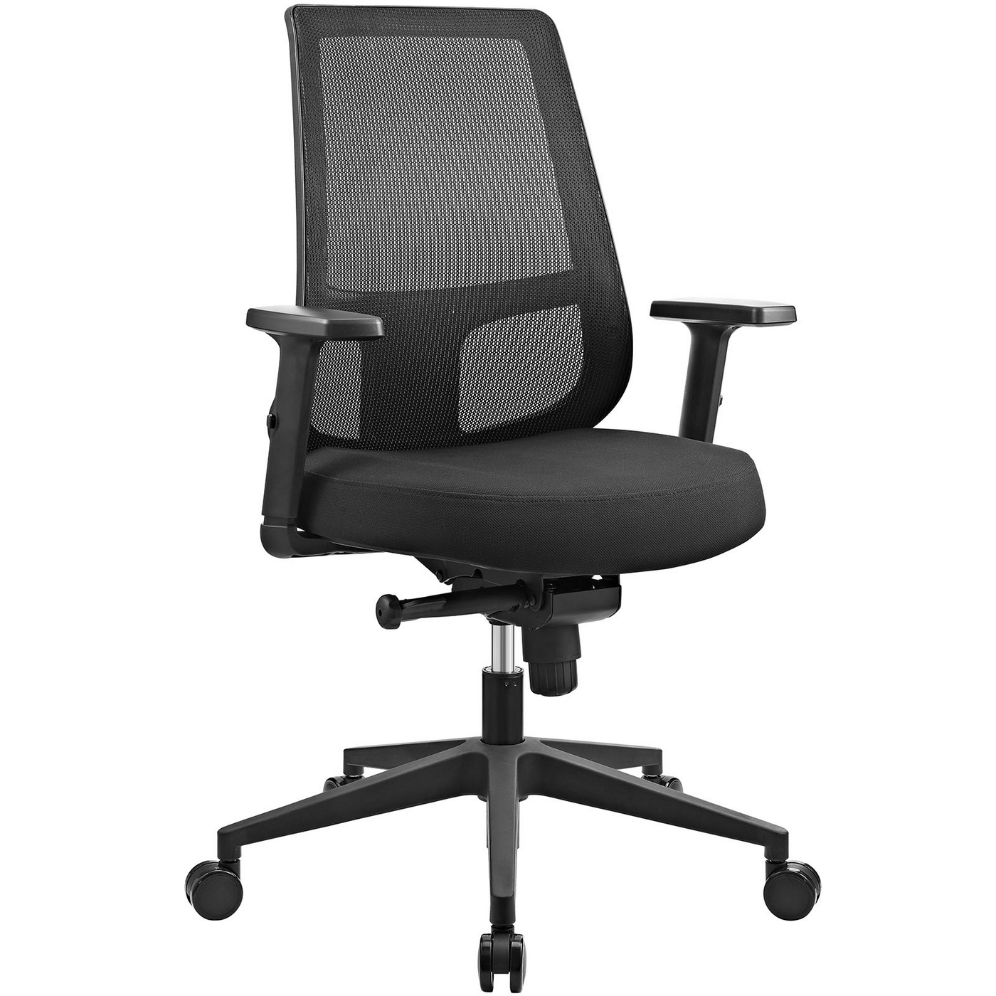 Back Support Office Chair Pump Ergonomic Mesh Back Office Chair With Lumbar Support