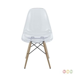 Modern Plastic Chair Small Fold Up Table And Chairs Pyramid Molded Transparent Dining Side