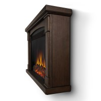 Real Flame Brighton Slim Line Wall Hung Electric Fireplace ...