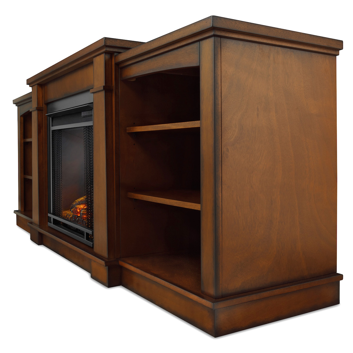 Real Flame Hawthorne Electric Fireplace In Burnished Oak