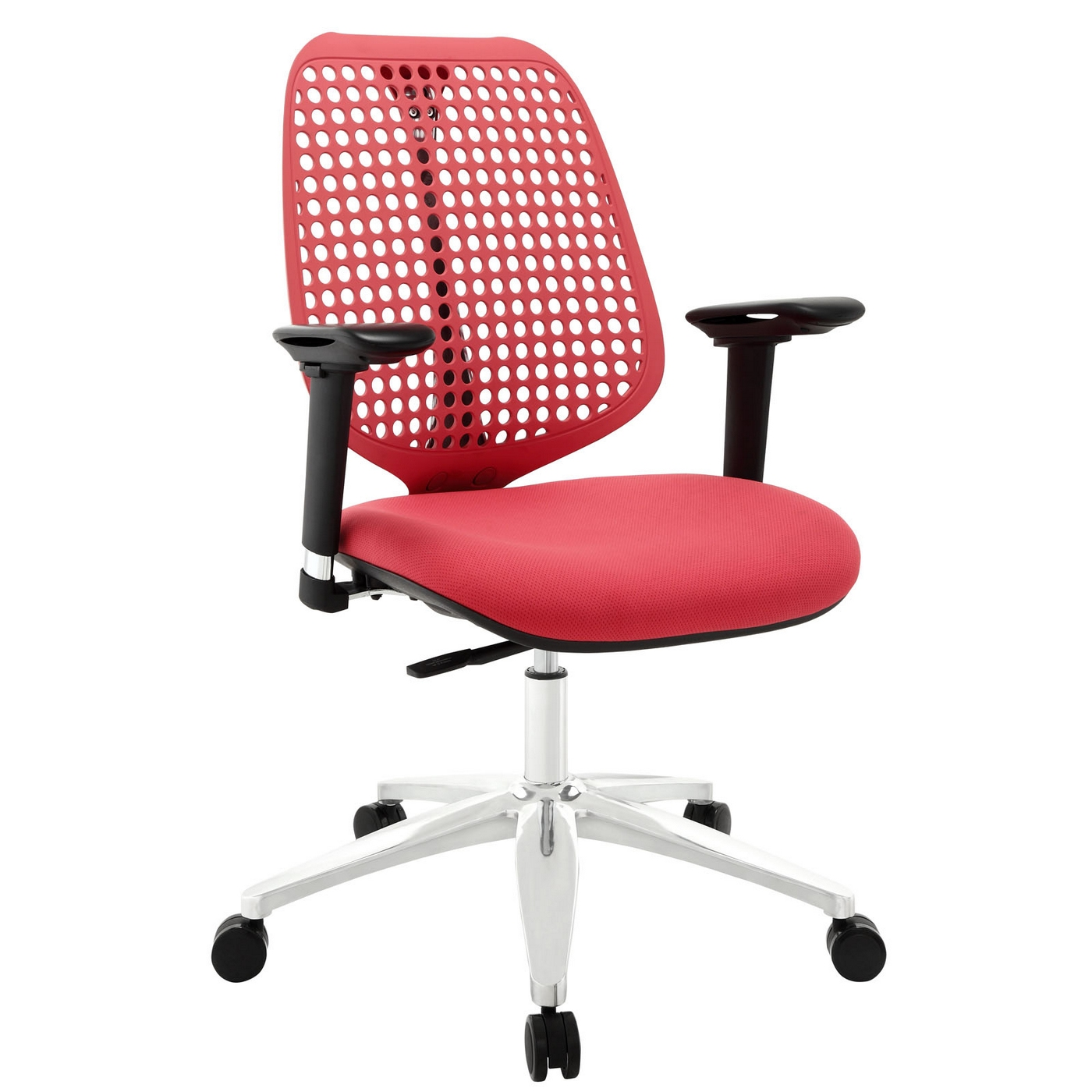 Modern Office Chair Reverb Modern Office Chair With Mesh Back And Upholstered