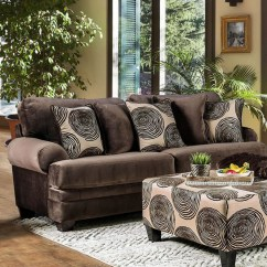 Brown Accent Pillows Sofa Pottery Barn Bed Cover Rosalinda Transitional Microfiber With
