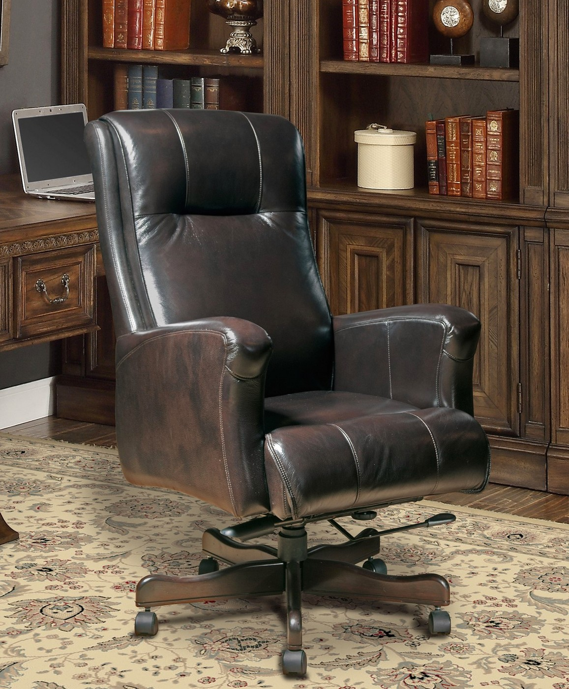Genuine Leather Office Chair Sable Genuine Leather Office Furniture Desk Chair Dc 103