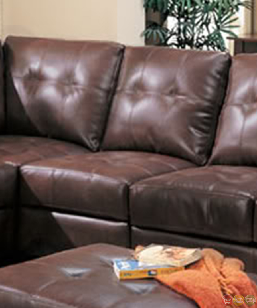 simmons bonded leather sofa slats as seen on tv samuel brown sectional contemporary l ...