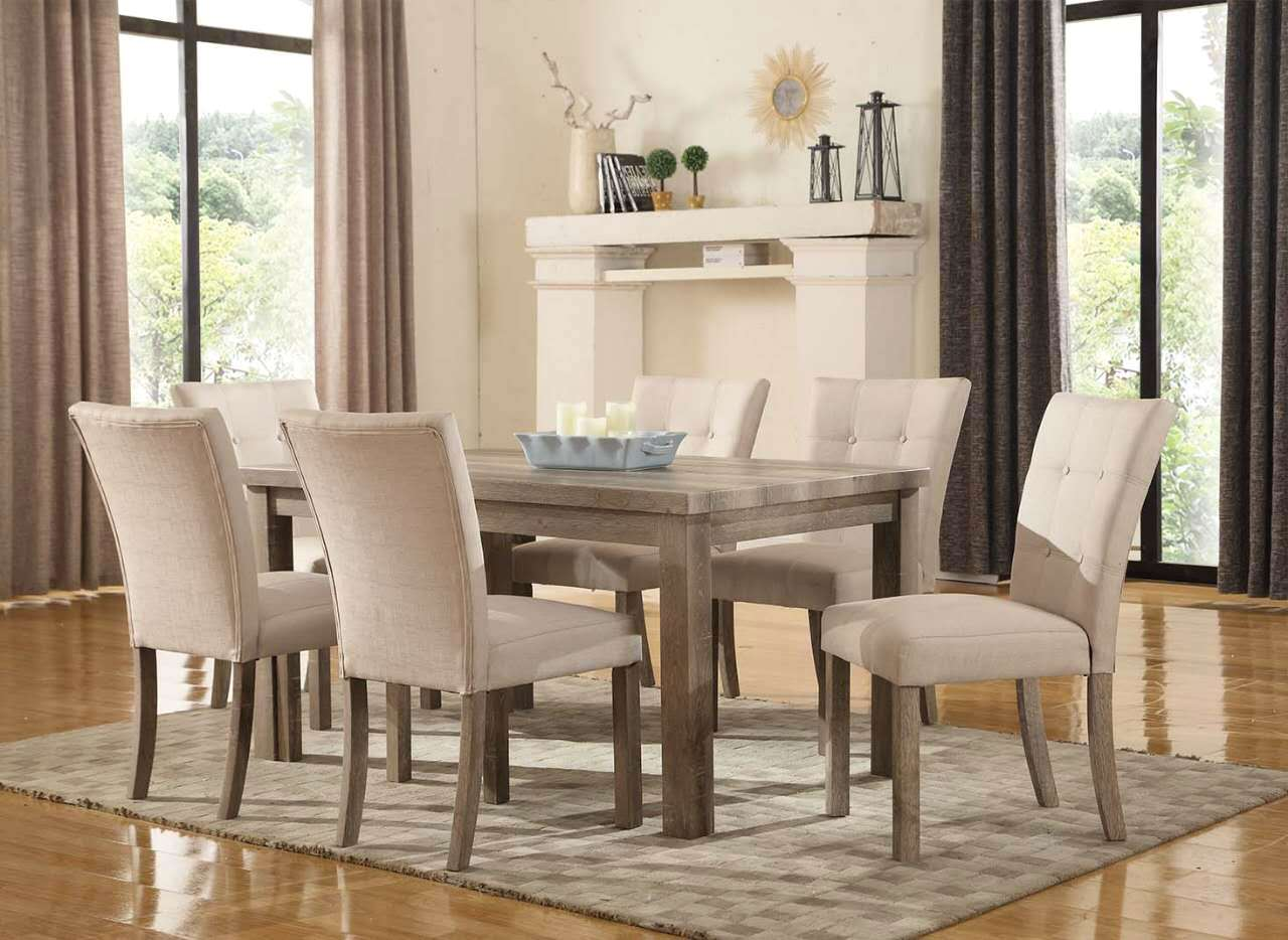 Sanders Reclaimed Grey 5pc 60 Dining Set W Weathered