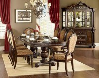 Cleopatra Ornate Traditional Cherry Formal Dining Room ...