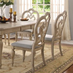Country French Side Chairs Chair Mat For Hardwood Floor Staples Set Of 2 Absolon Fabric In