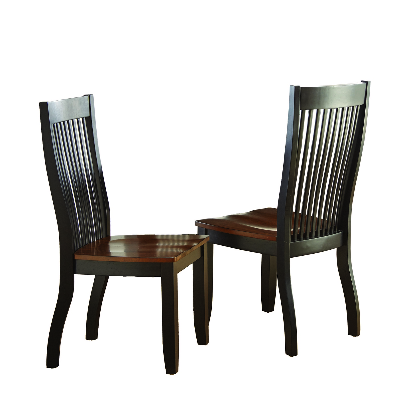 unfinished wooden chairs canada wedding chair cover hire grantham set of 2 lawton modern solid wood mision style slat back