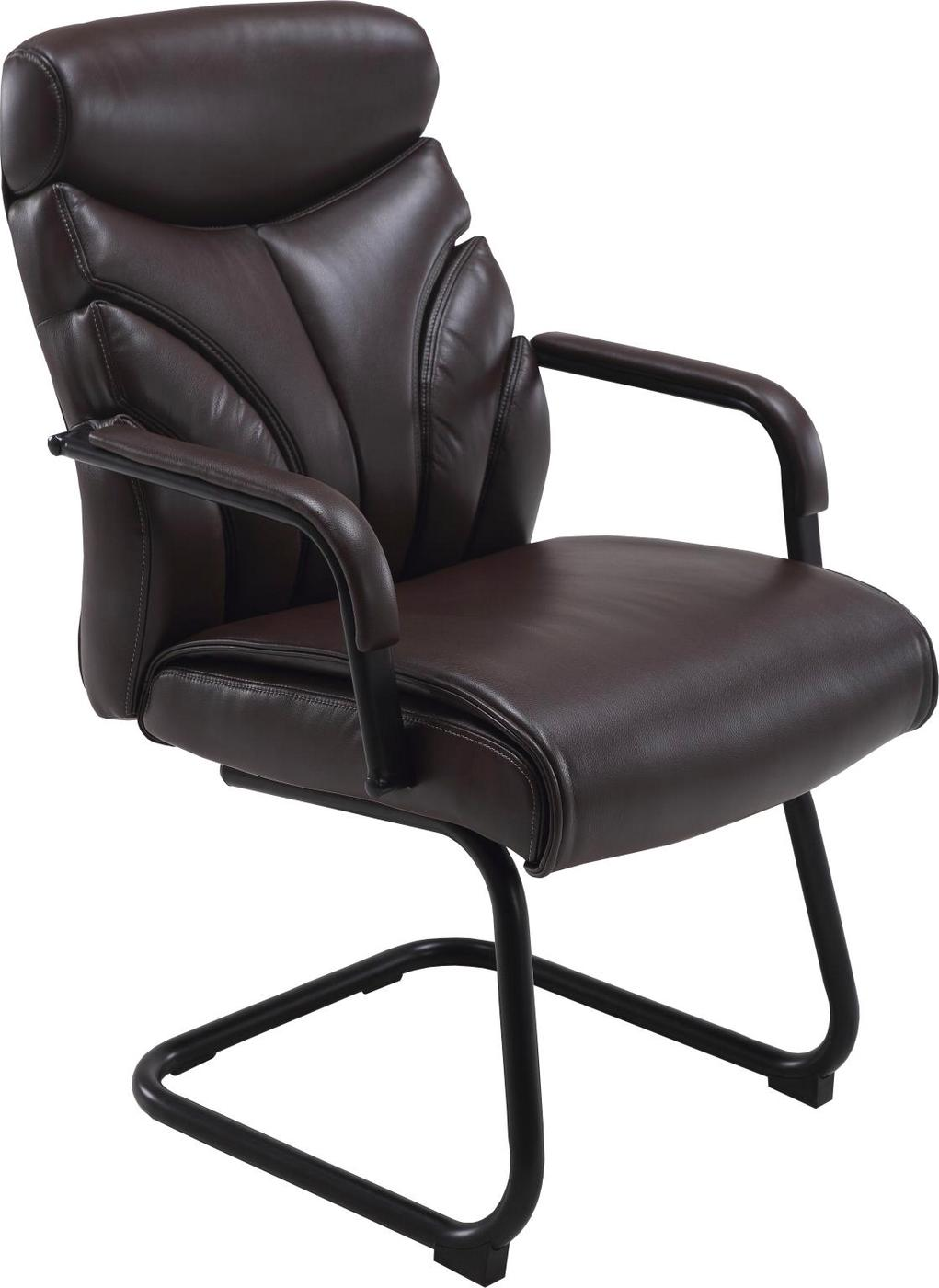 brown office guest chairs chair design sketch signature contemporary with modern back in mahogany