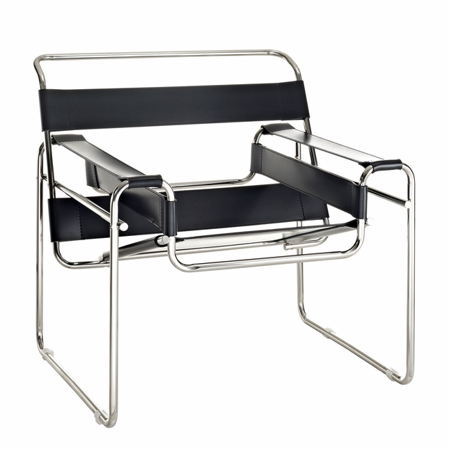 steel vinyl chair swing ride accident slingy modern strap lounge with stainless frame black