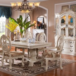 Elegant Dining Room Chairs Revolving Chair Height Traditional Furniture White Formal