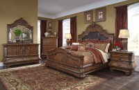 Michael Amini Tuscano Traditional Luxury Bedroom Set ...