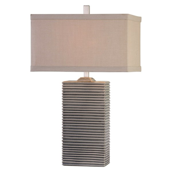 Table Lamps with Rectangular Shades