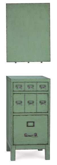 Distressed File Cabinet | Old Fashioned Filing Cabinet