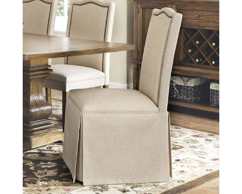 parsons chairs with skirt best massage chair coaster parkins parson w co 103713 set of 2