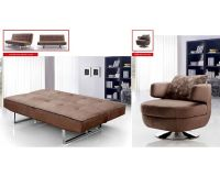 Contemporary Living Room Set w/ Sofa Bed 33SS341