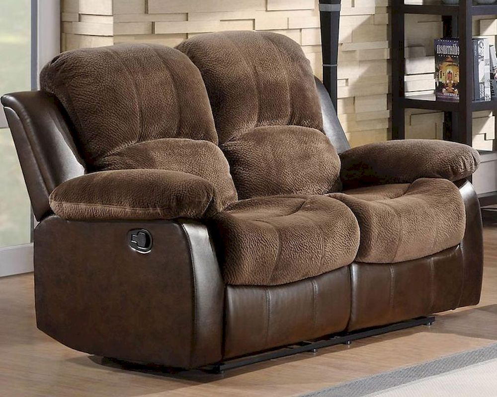 sofa mart recliner chairs soho bonded leather double glider reclining loveseat cranley by homelegance el ...