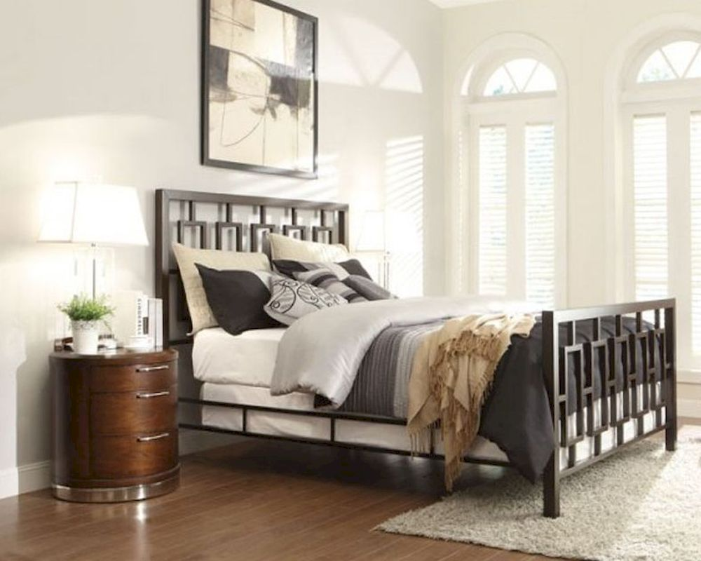 homelegance bedroom set w/ metal bed zelda el2865set