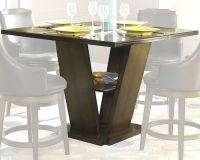 Homelegance Counter Height Pedestal Dining Table Bayshore ...