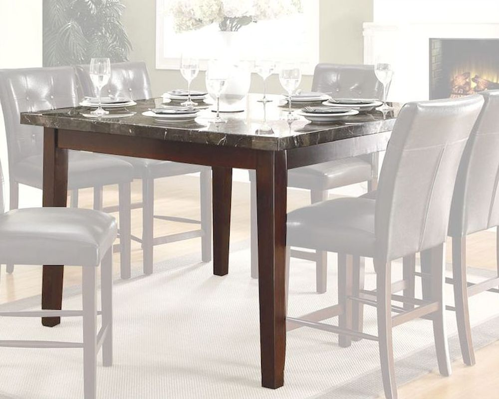 Homelegance Counter Height Table With Marble Top Decatur