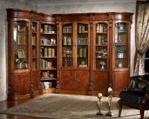 Infinity Furniture Library Wall Unit Louis Xvi Inlv-set3